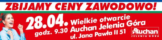 Auchan w Jeleniej Górze zaprasza!