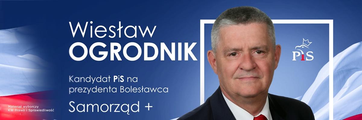 Wiesław Ogrodnik - kandydat na Prezydenta Bolesławca