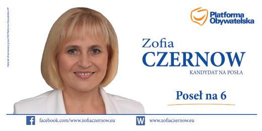 Zofia Czernow - Twoja kandydatka